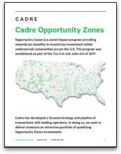 cadre opportunity zones picture